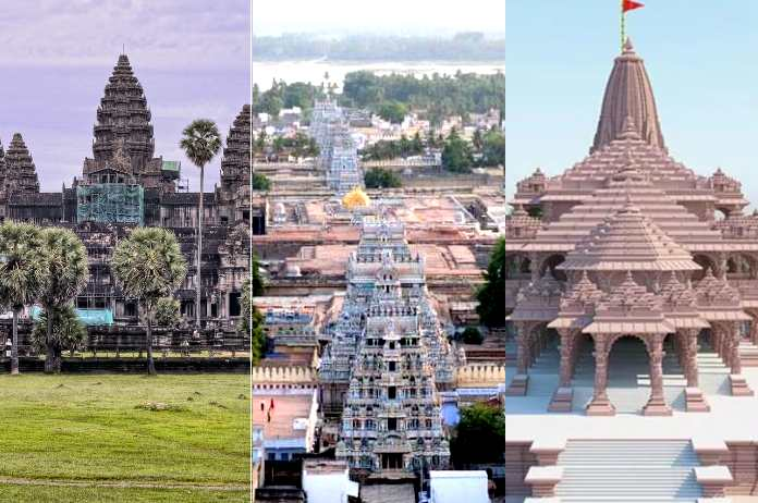 Top 3 largest Hindu Temples in the world