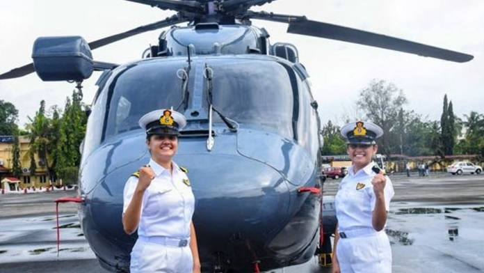 Two Women Officers to Operate Indian Navy Warships for the First Time in History
