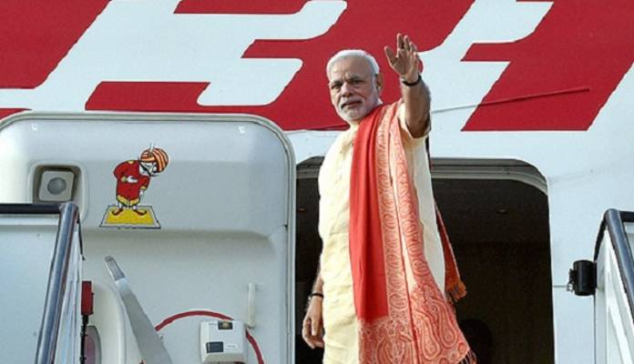 PM Has Visited 58 Nations Since 2015 At Cost Of ₹ 517 Crore Centre