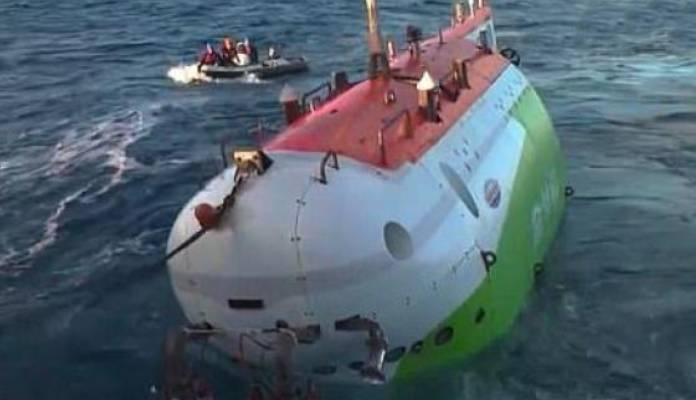 China Sends Fendouzhe Vessel Into Earth's Deepest place Mariana Trench
