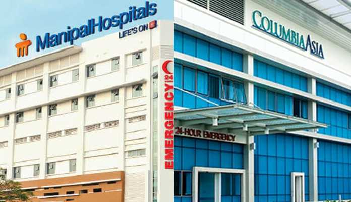Manipal Hospitals to acquire Columbia Asia for Rs 2,100 crore