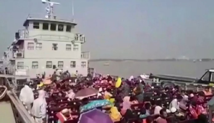 Bangladesh Goverment relocated Rohingya refugees to Isolated island